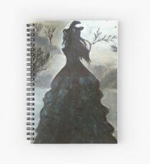 Torment- Lauren Kate - Fallen Book Series - Painting Spiral Notebook