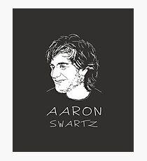 Aaron Swartz Tribute Art - Internet's Own Boy Photographic Print