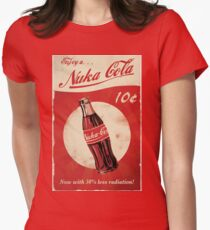 Ice Cold Nuka Cola Womens Fitted T-Shirt