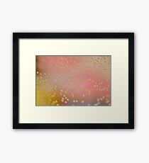 Colourful Bubbles Framed Print