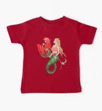Waterlily Mermaid Baby Tee