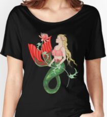 Waterlily Mermaid Women's Relaxed Fit T-Shirt