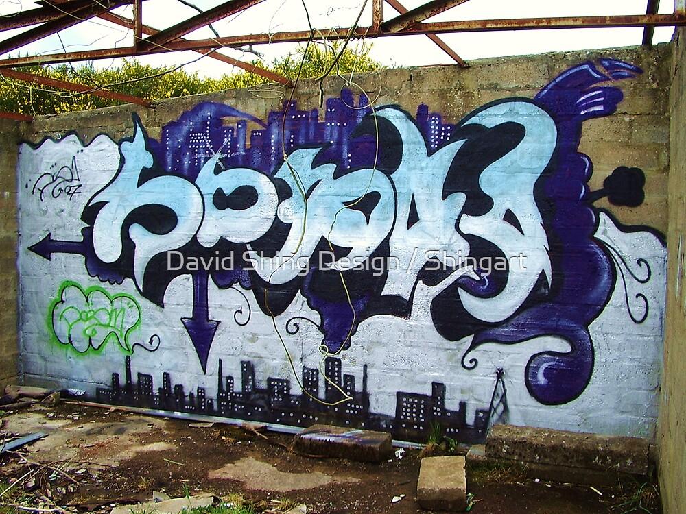 graffiti1 by David Shing Design / Shingart