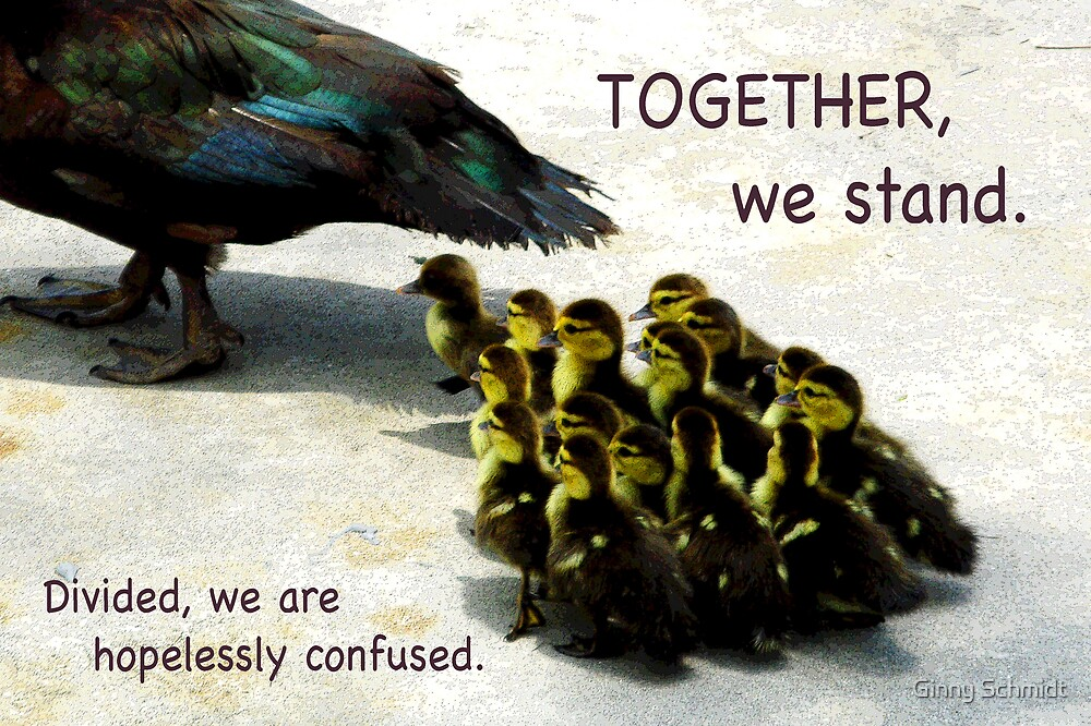 Together We Stand by Ginny Schmidt