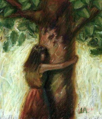 tree hugger by Jim rownd
