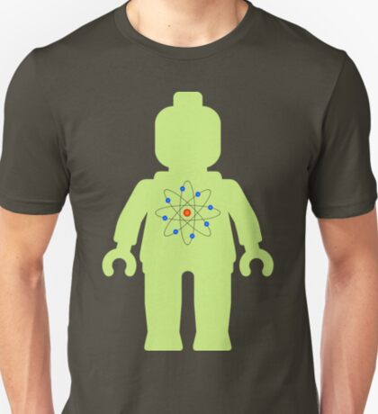 Minifig with Atom Symbol  T-Shirt