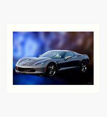 2016 Corvette C7 Stingray Art Print