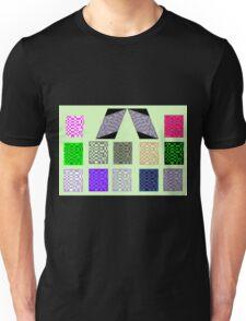 Mondrain on Green T-Shirt