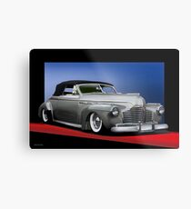 1941 Buick Custom Convertible  Metal Print