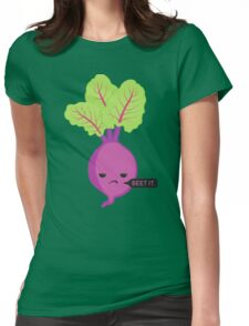 Beetroot Womens Fitted T-Shirt