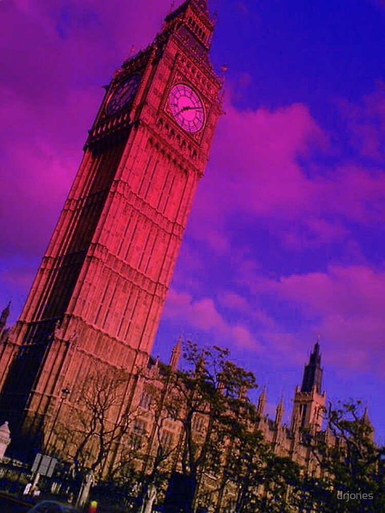 Big Ben In Blue by drjones