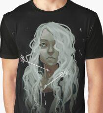 White Arrows Graphic T-Shirt