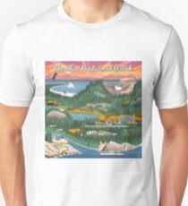 Acadia National Park Maine Vintage Decal Unisex T-Shirt