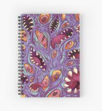 Cuaderno de espiral Patrón Lovecraftian