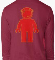 Banksy Style Astronaut Minifigure Long Sleeve T-Shirt
