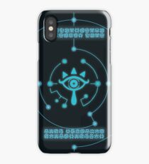 Sheikah Comunication Device - Breath of the wild iPhone Case/Skin