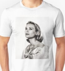 Grace Kelly, Vintage Hollywood Actress Unisex T-Shirt