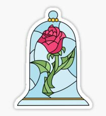 BEAUTY AND THE BEAST ROSE Sticker