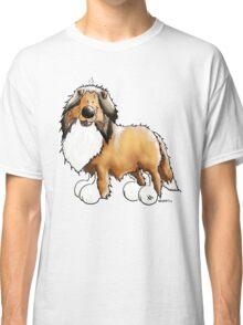 Fluffy Rough Collie Classic T-Shirt