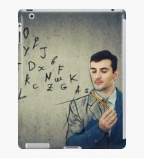 alphabet letters escape iPad Case/Skin