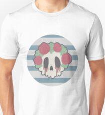 Flower Crown Skull T-Shirt