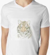 """Tiger"" Men's V-Neck T-Shirt"