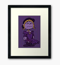 Liliana Van Pelt's a Swamp Player (Picture only) Framed Print