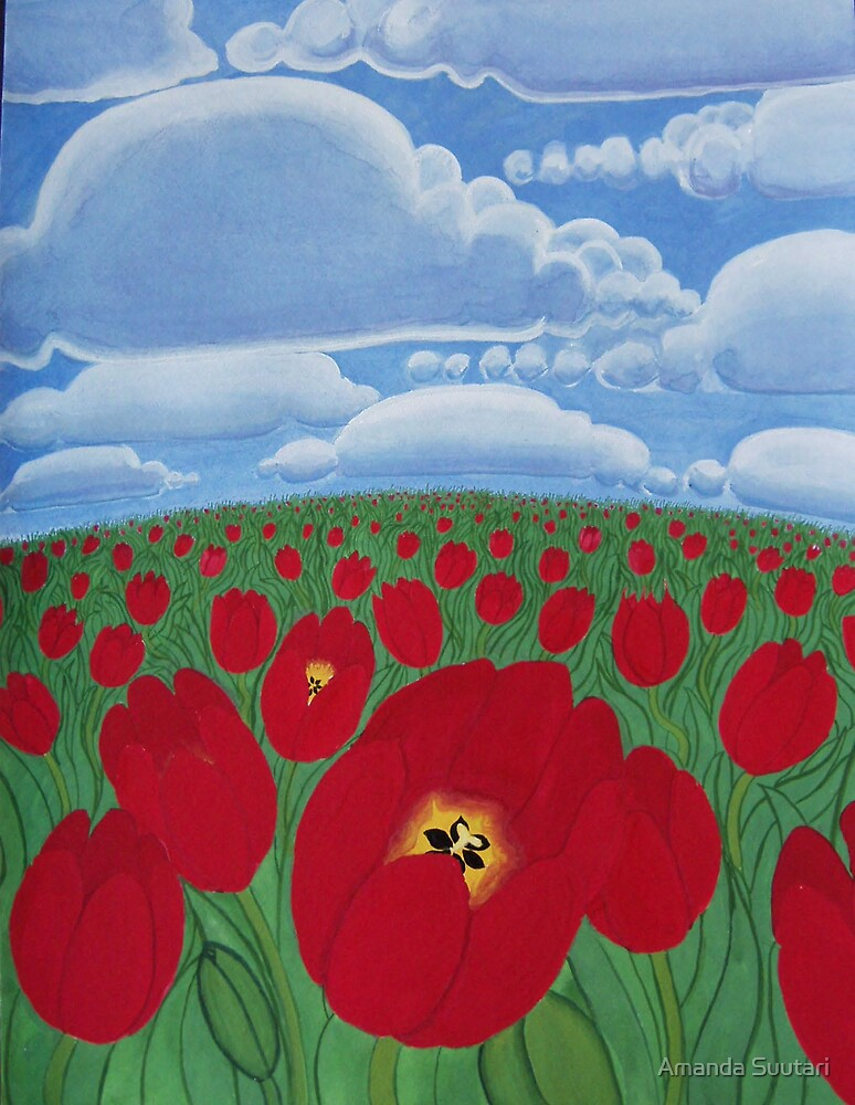 tulips by Amanda Suutari