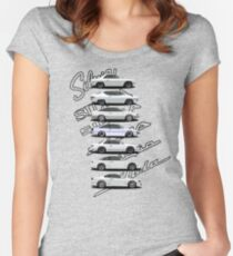 Nissan Silvia Generations Women's Fitted Scoop T-Shirt
