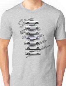 Nissan Silvia Generations Unisex T-Shirt