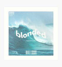 Blonded Frank Ocean Art Print