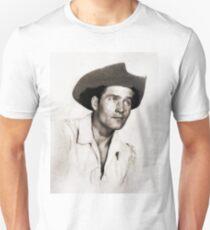 Clint Walker, Vintage Hollywood Actor Unisex T-Shirt