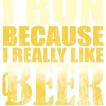 Ich laufe, weil ich Bier wirklich mag von TheFlying6