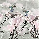 #1 Silver Mountain Hummingbirds by Madeline M  Allen