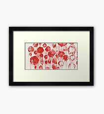 """Cy Twombly, """"Blooming"""", 2001-2008 Framed Print"""
