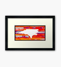 North Carolina Framed Print