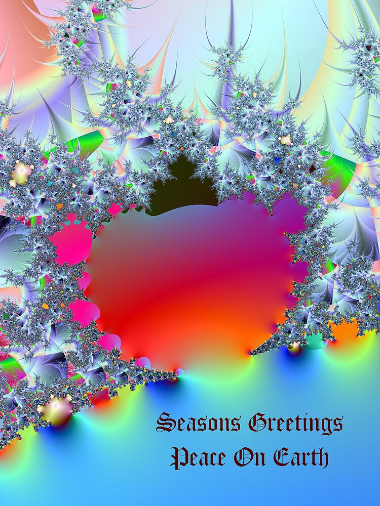 Peace On Earth-Fractal Art by Terry Krysak