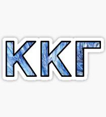 KKG Feathers Sticker