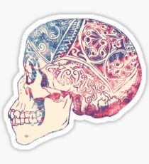 Trippy Skull Grateful Dead Sticker