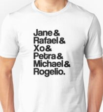 Jane The Virgin Characters Unisex T-Shirt