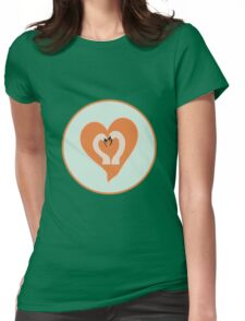 Love for life Womens Fitted T-Shirt