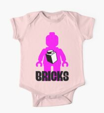 Minifig with Brick One Piece - Short Sleeve