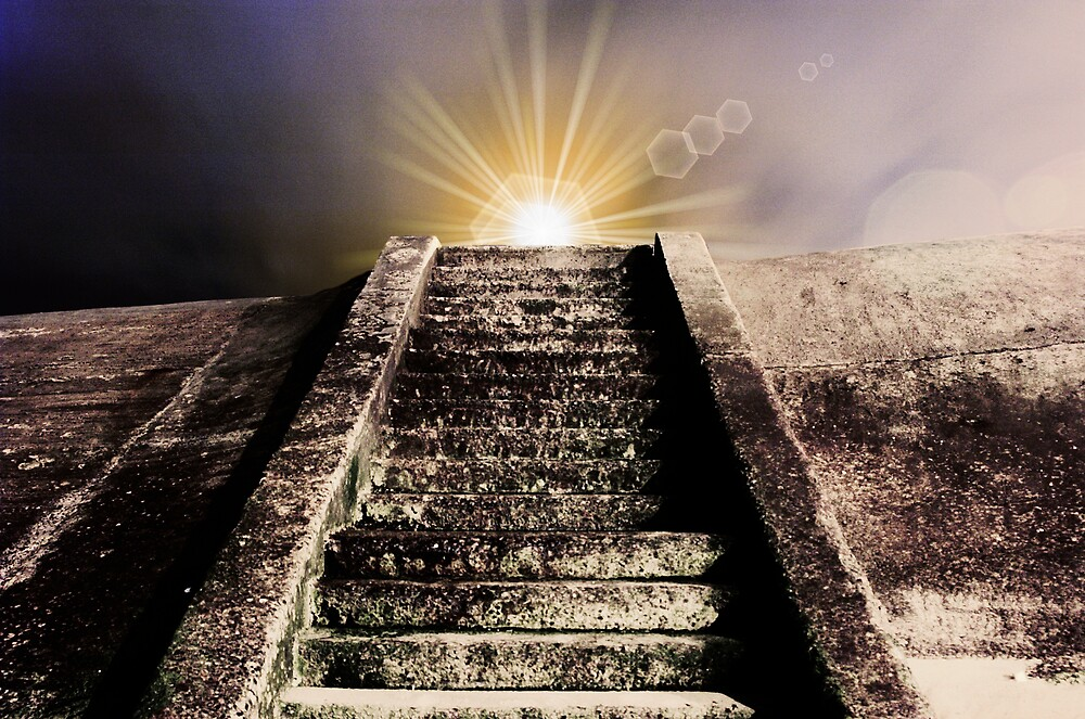 Step into the light by Glen Birkbeck