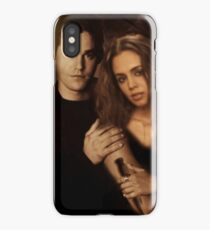 Xander Harris and Faith Lehane - Buffy the Vampire Slayer iPhone Case/Skin