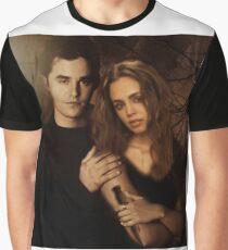 Xander Harris and Faith Lehane - Buffy the Vampire Slayer Graphic T-Shirt