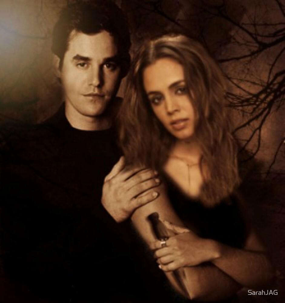 Xander Harris and Faith Lehane - Buffy the Vampire Slayer by SarahJAG