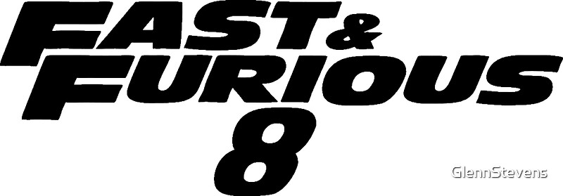 fast and furious 8 black stickers by glennstevens redbubble. Black Bedroom Furniture Sets. Home Design Ideas