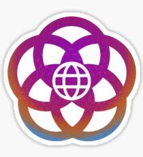 Epcot Design Sticker