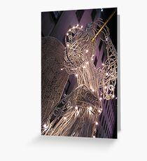 Christmas Angels of Rockafeller Center Greeting Card