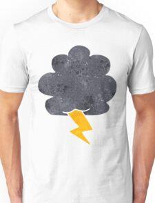 retro cartoon thundercloud Unisex T-Shirt